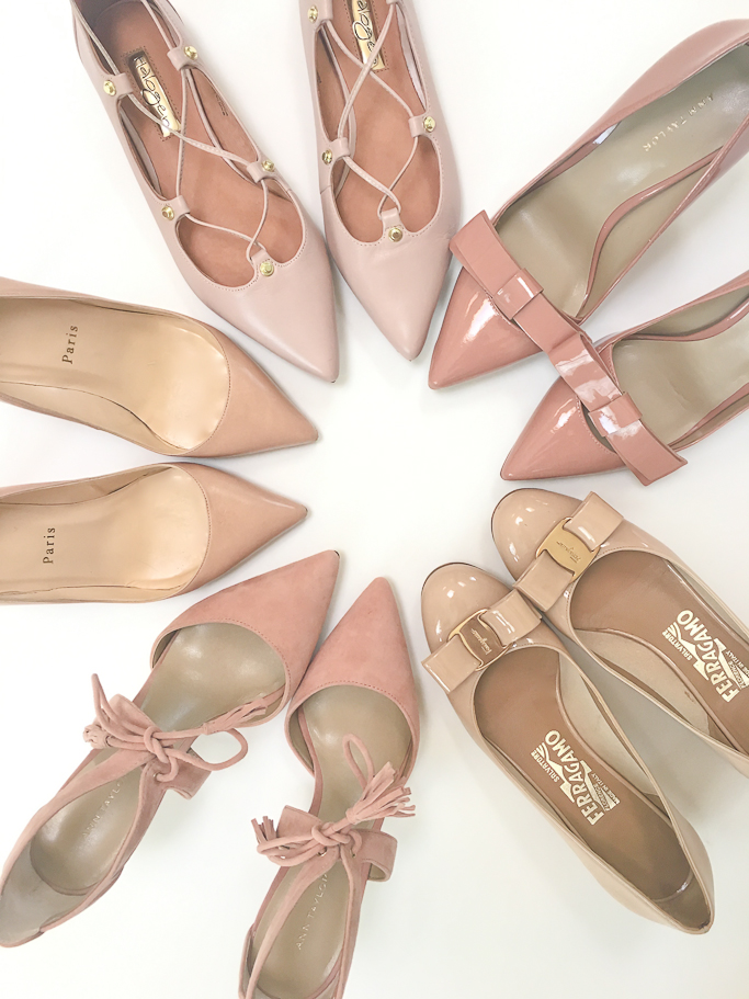 Blush nude shoes-2