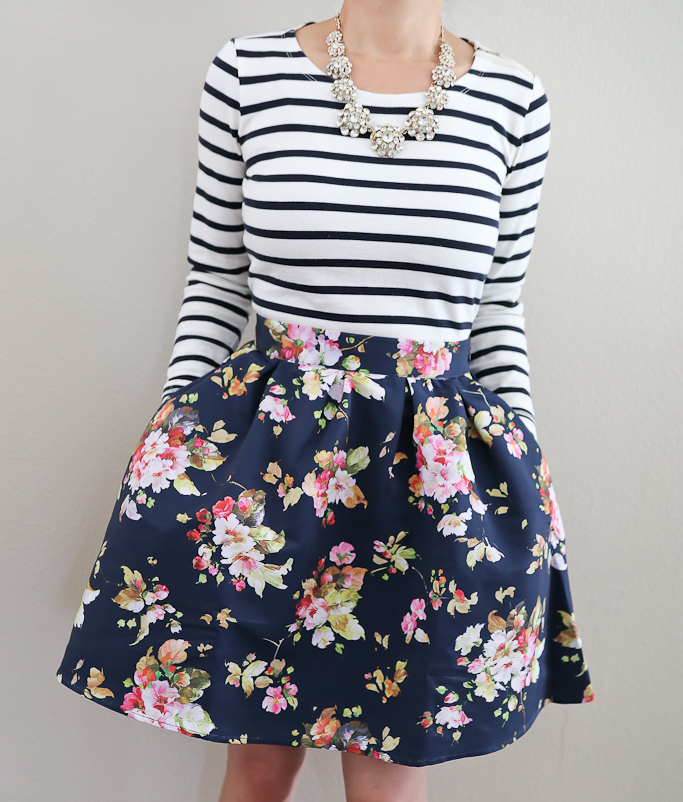 Benevolent Belle Fit and Flare Skirt
