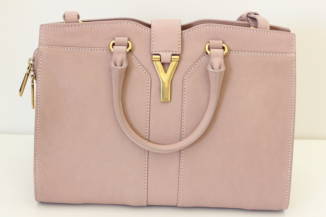 Review  Yves Saint Laurent  Cabas Chyc - Mini  Leather Satchel ... 641bed32a3f7d
