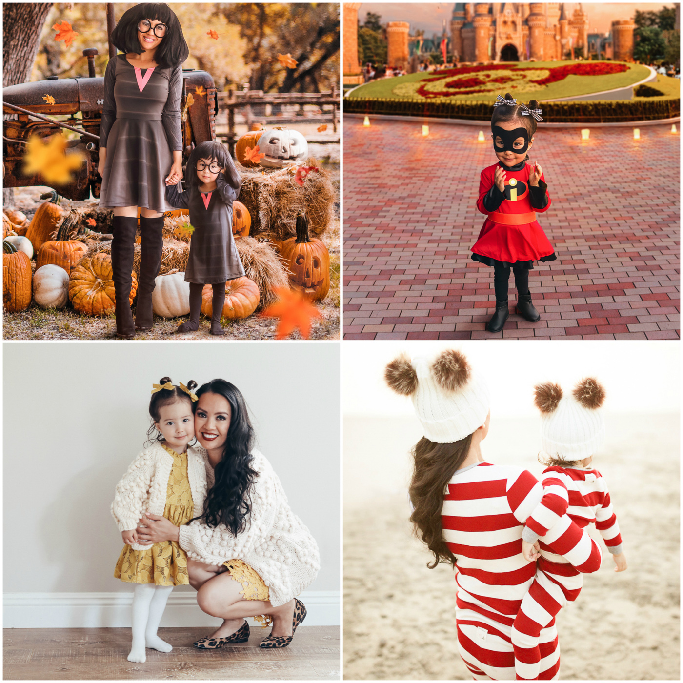 mommy and me halloween costumes Edna Mode The incredibles christmas pajamas