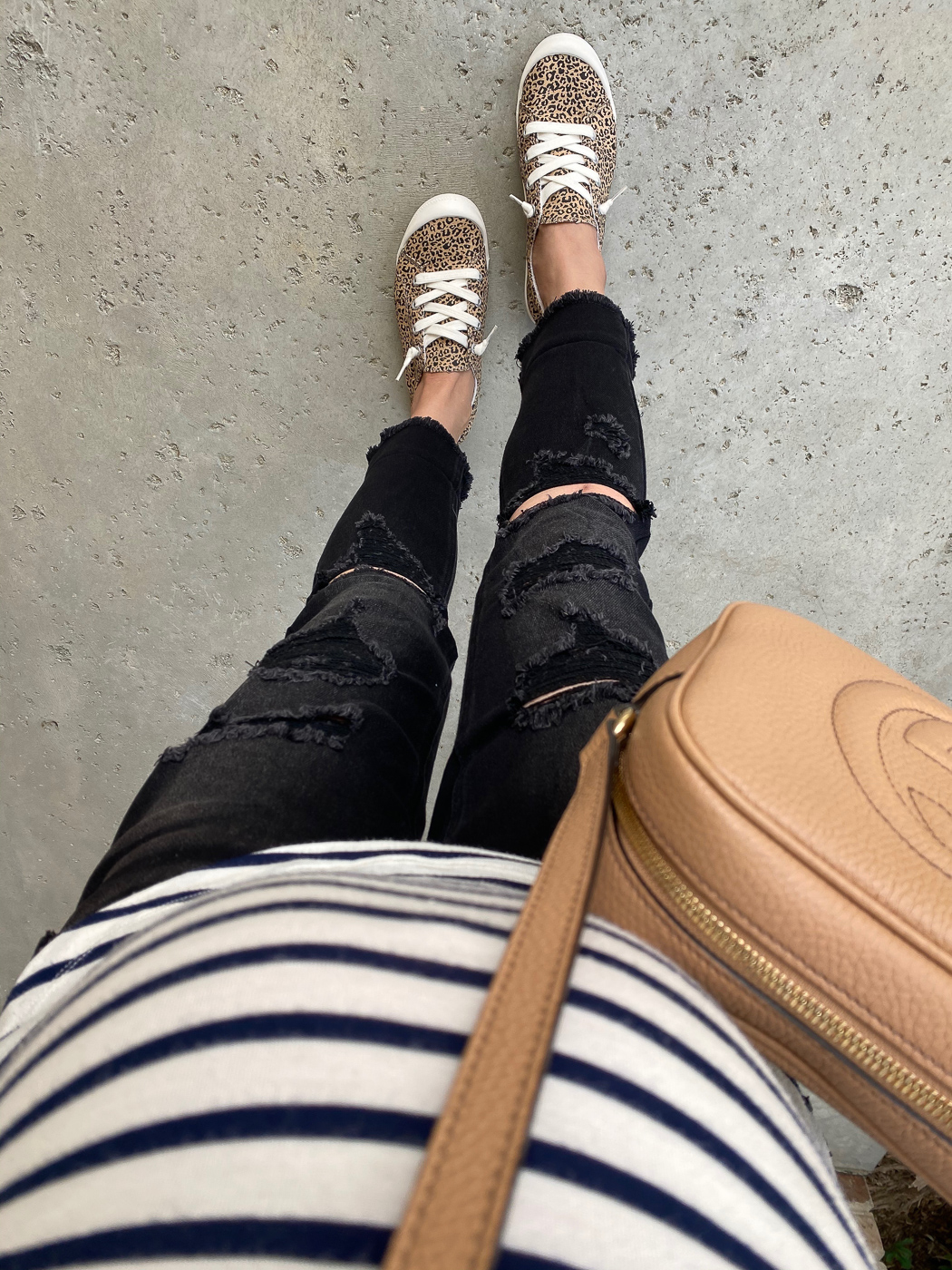 Review: Spring Dresses + Comfy Sneakers
