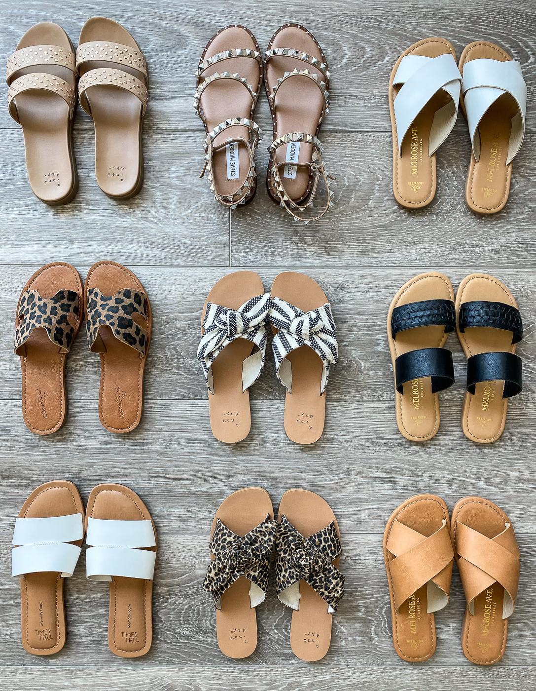 summer spring sandals flats